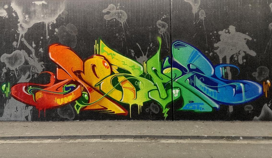 graffiti callejero grafitti americano